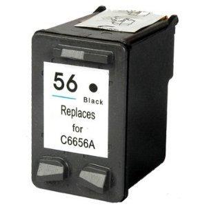Druckerpatrone kompatibel für HP 56 black schwarz [PC]