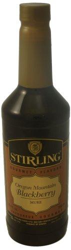 Stirling Gourmet Oregon Mountain Blackberry Syrup (Gourmet,Stirling Gourmet Flavors,Gourmet Food,Beverages)