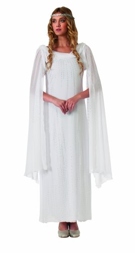 Galadriel Dress With Headpiece, White