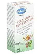 Cold Sores/Fever Blisters 100 Tablets by Hylands