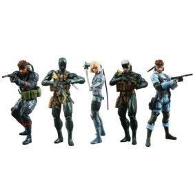 Figures - Set of 5 (All version Snake & Raiden): Toys & Games