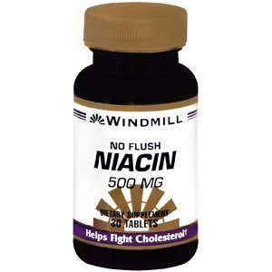 Special Pack Of 5 Windmill Marketing Windmill Niacin Tab 500Mg No Flush 30 Tablets