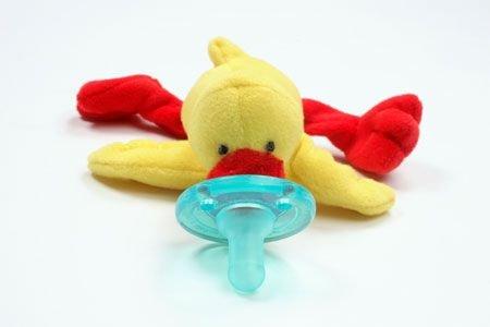 "Wubbanub Plush Pacifier ""Duck"""