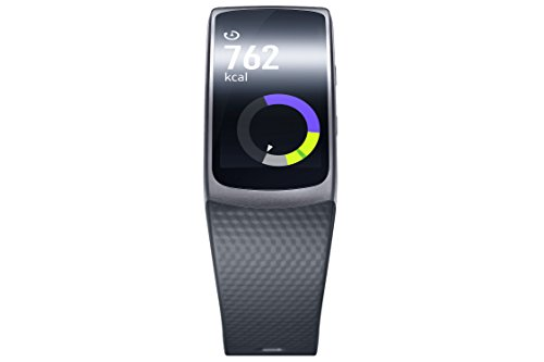 Samsung Gear Fit II - Smartwatch mit Herzfrequenzmessung und Notifications Dark Gray (L) 2