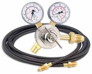 "30 Series Flow Gauge Regulator 50 cfh, 2"", Argon"