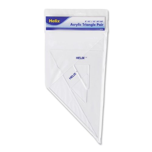 Helix Matching Triangle Pairs, 8 and 10 Inch (27087) helix