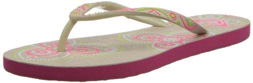 Roxy Women's Sandee Flip Flop,Natural,9 M US