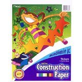 Mead Construction Paper, 96 Sheets, 9 x 12 Inch, Assorted Colors (53336)