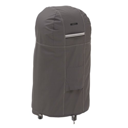 Classic Accessories 55-173-015101-Ec Ravenna Round Smoker Cover, Taupe