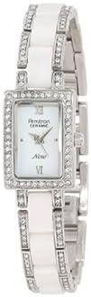 Armitron Womens 753955WTSV Silver-Tone NOW Swarovski Crystal
