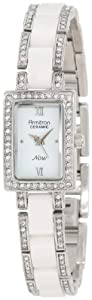 Armitron Women's 753955WTSV Swarovski Crystal-Accented Watch
