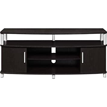 """Carson TV Stand, for TVs up to 50"""" Espresso"""