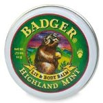 Badger Balm Highland Mint Lip & Body Balm 0.75oz
