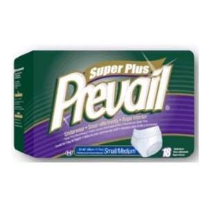 Prevail Super Plus Underwear for Women of Size Large 44-58 Inches - 14 Ea/pack 4 Pack from Prevail