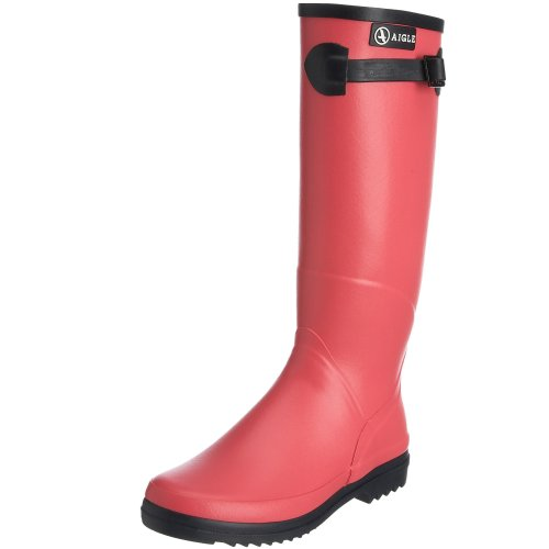 Aigle Women's Chantebelle Wellies In Pivoine/Kaki/Aqua