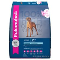 Eukanuba Senior Large Breed Formula Dry Dog Food 30-lb bag