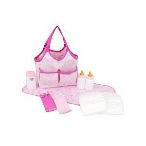 You & Me Doll Accessories Tote Bag - Light Pink