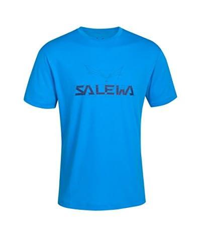 Salewa Camiseta Manga Corta Puez (Dreizin) Dry M S Azul