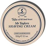 Taylor of Old Bond Street Mr.Taylor A Gentelmans Luxury Shaving Cream Screw Tread Pot 150gr