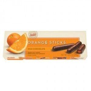 Sweet's Milk Chocolate Orange Sticks, 10.5oz Box