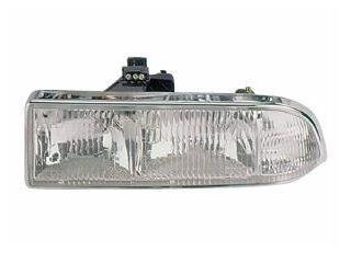 Chevy/GMC S-10 Pickup/S10 Blazer Headlight Headlamp Driver Side New (S10 Headlight Covers compare prices)