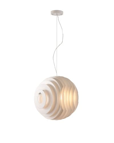 Zuo Modern Intergalactic Ceiling Lamp, White