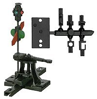 HO High Level Switch Stand, Rigid