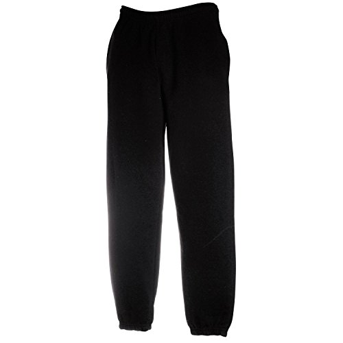 FRUIT OF THE LOOM LADY FIT JOG PANTS JOGGING SWEAT BOTTOMS - 3 COLOURS