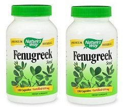 Fenugreek Seed 180 Capsules (Pack of 2)
