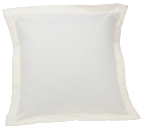 Find Discount Fresh Ideas Tailored Poplin Pillow Sham Euro, Ivory