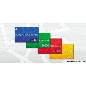 Playstation Network Card / Ticket (10000 Yen / For Japanese Network Only) [Retail Packing] [Japan Import] front-723315
