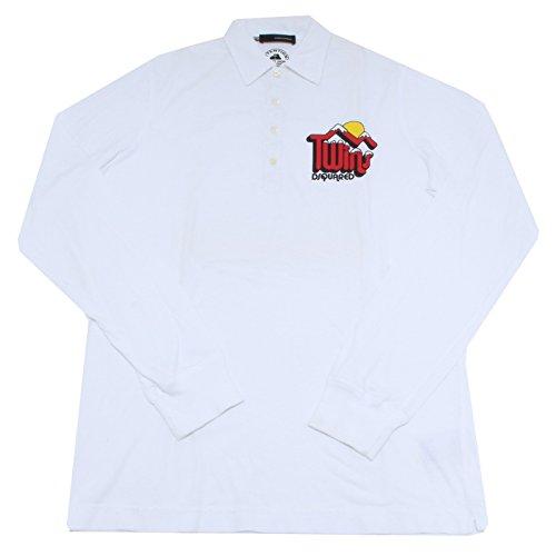 8808F polo DSQUARED D2 MANICA LUNGA maglia uomo t-shirt men [XL]