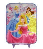 Disney Princess Pilot case- Full Size Princess Luggage - Belle - Aurora - Cinderella