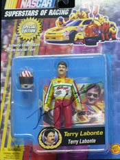 Signed Labonte, Terry Signe Racing Figure autographed by Powers Collectibles