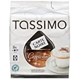 Tassimo Carte Noire Cappuccino (Pack of 4) 4x8 T-Discs