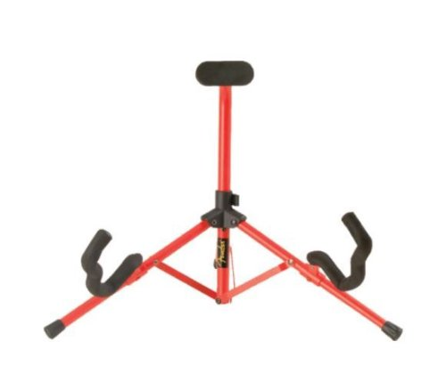 fender-099-1806-000-mini-stand-pour-guitare-rouge