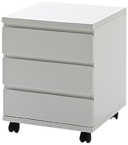 Mister meubles caisson de bureau sur roulettes design carl for Meuble bureau caisson