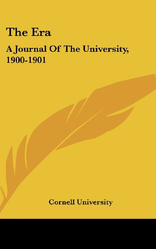 The Era: A Journal of the University, 1900-1901