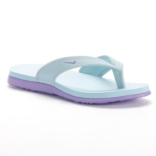 Nike Celso South Beach Thong Flip Flop Sandals - Blue / Purple (9) front-880544