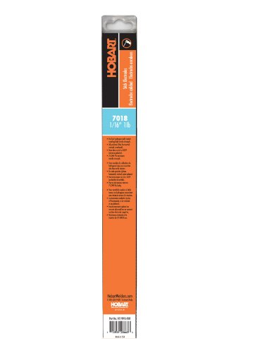 Hobart H119916-R01 1-Pound Plastic 7018 Stick Welding Electrode, 1/16-Inch