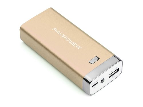 Ravpower Luster 6000Mah Backup External Battery Pack Power Bank Charger For Iphone 5S, 5C, 5, 4S, 4, Ipod, Ipad Air, Mini2 (Apple Adapter Not Provided); Samsung Galaxy S4, S3, S2, Note3, Note 2; Nexus 5, Nexus 4, Htc One, Evo 4G, Thunderbolt; Nokia Lumia