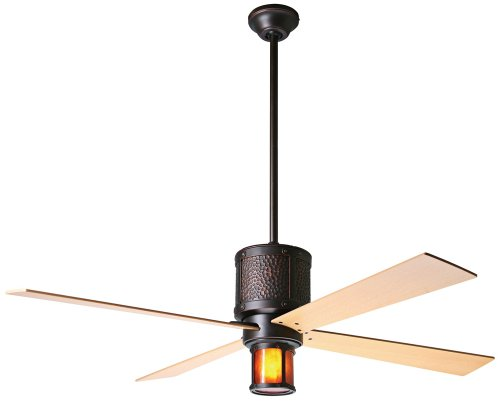 52 Bodega Rubbed Bronze And Mica Ceiling Fan O Deals