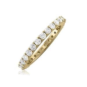 14k Yellow Gold Diamond Eternity Band (GH, I1-I2, 1.00 carat) [Jewelry]