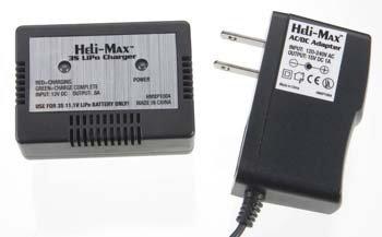 Heli-Max Charger - Axe CPV3 AC 3S Lipo Balance