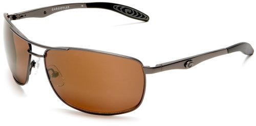 Gargoyles Men's Interval Copper Aviator Sunglasses