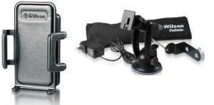 Wilson Electronics 815226 Sleek Cell Phone Signal Car Cradle Booster with Kit For Home Use