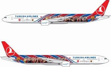 【ドラゴンウイングス】(1/400)777-300 トルコ航空 FCバルセロナ特別塗装機 (56370)DRAGON WINGS/ガリバー