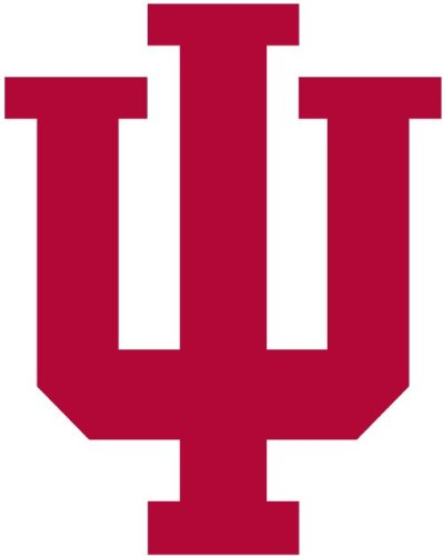 Indiana Hoosiers - Iphone - Cell Phone - Ipod - Ipad - Laptop Sticker Decal (Set Of 4)