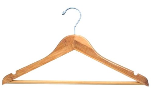 Bamboo Flat Suit Hanger -100 Hangers big creative simulation fox model polyethylene