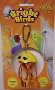 Image of Multi Pet Bright Birds Jellyfish 6in Small Bird Toy (B000GF3LK0)